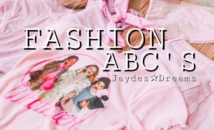 MY FASHION ABC'S