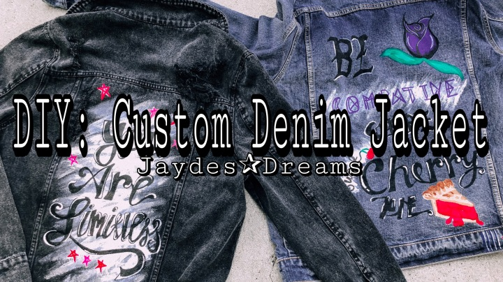 DIY: Custom Denim Jackets